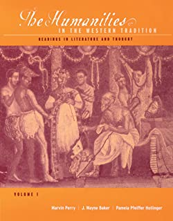Amazon cengage advantage books western civilization volume i 1 the humanities in the western tradition readings in literature and thought volume fandeluxe Choice Image