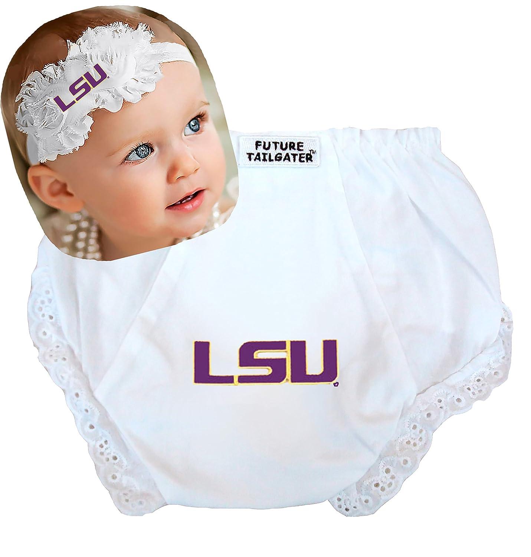 Future Tailgater Louisiana State LSU Baby Diaper Cover