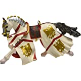 Papo - 39334 - Figurine - Cheval du Chevalier Perceval