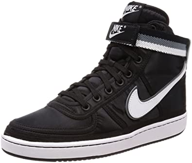 promo code 51fc3 83ba3 ... shopping nike mens vandal high supreme black white grey nylon size 8.5  41fd5 b8c97