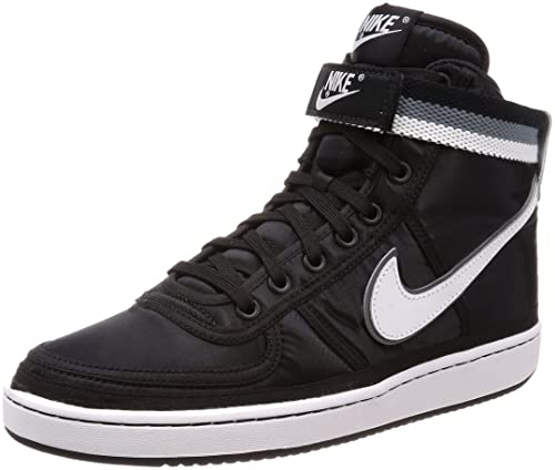Amazon.com | Nike Mens Vandal High Supreme Black/White-Grey Nylon Size 12 | Fashion Sneakers
