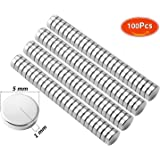 HHOOMY Brushed Nickel Pawn Style Fridge Magnets, Office Magnets, Dry Erase Board Magnets, Refrigerator Magnets, Whiteboard, Map, Magnetic Pins, 100 Pcs
