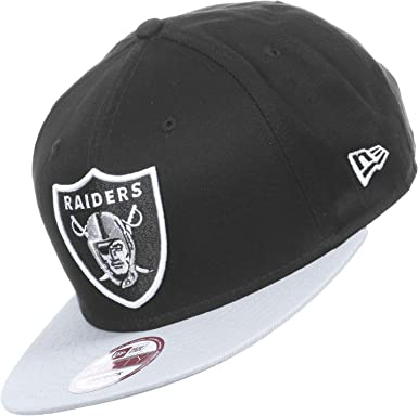 7ecaea0745d New Era NFL Cotton Block Oakland Raiders 9Fifty Snapback Black Grey -  Casquette de Baseball - Homme  Amazon.fr  Vêtements et accessoires