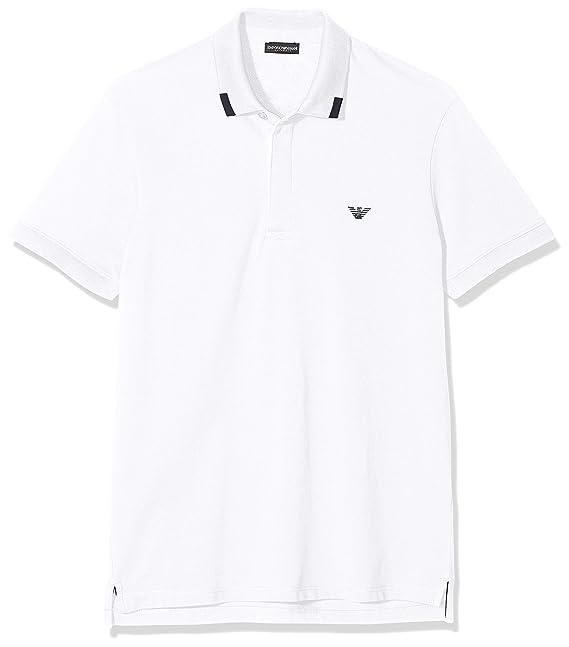 Emporio Armani Underwear Polo Shirts, Blanco (Bianco 00010), XX ...