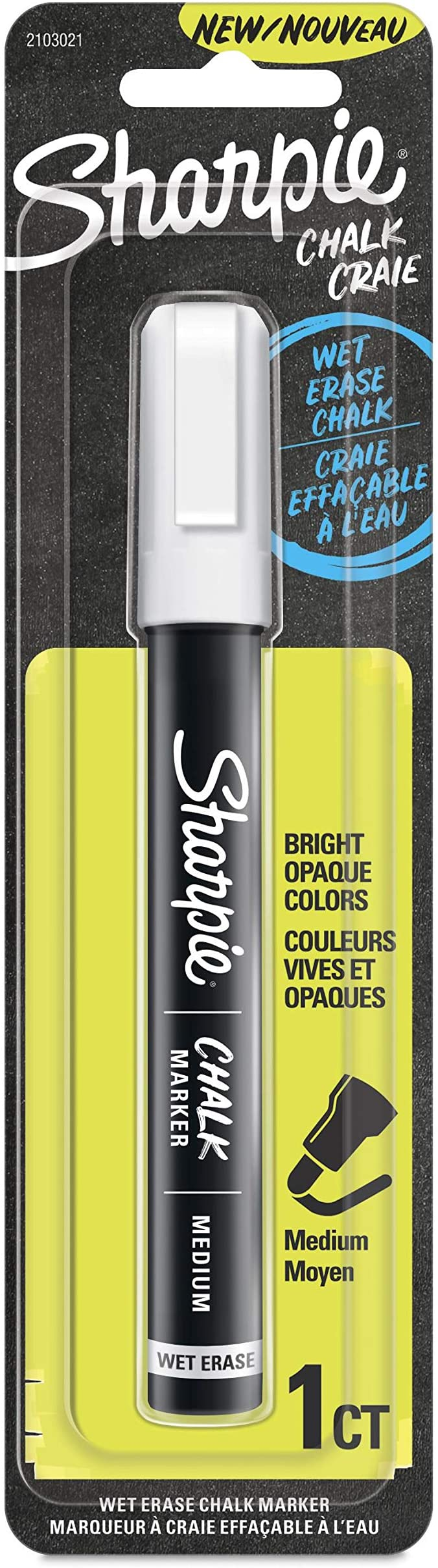 Sharpie Chalk Marker 3 Count Wet Erase Markers Assorted Colors