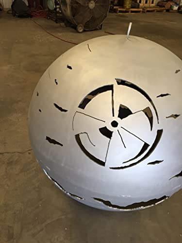 Custom Designed Death Star Fire Pit 37.5 Inch Diameter