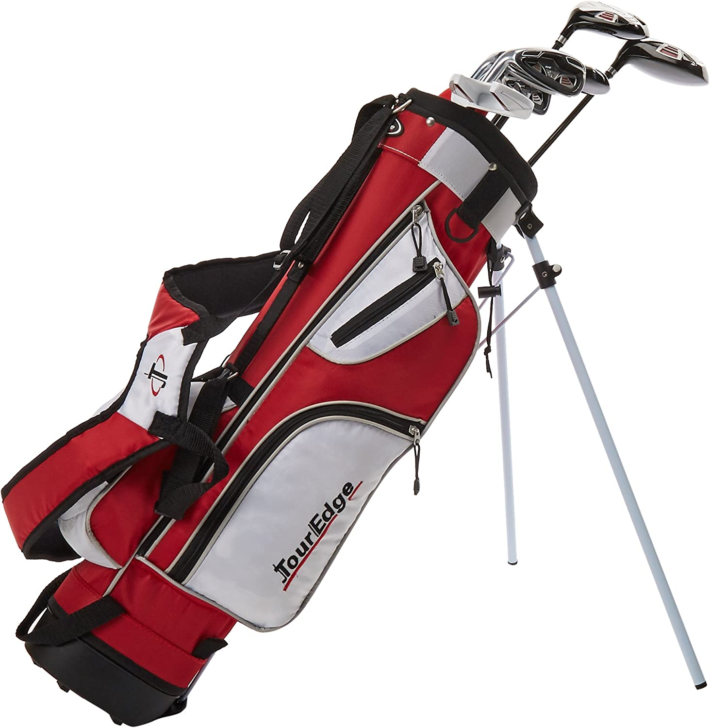 Amazon Com Tour Edge Ht Max J Set Junior S Ages 5 8 5 Club Set Right Handed With Bag Golf Club Complete Sets Sports Outdoors