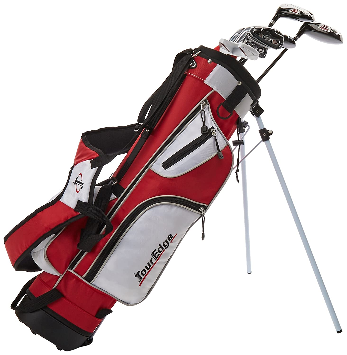 Tour Edge HT Max-J Set (Junior's, Ages 9-12, 7 Club Set, Left Handed, with Bag) SS-SMS-1001544