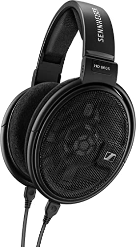Sennheiser HD 660 S – HiRes Audiophile Open Back Headphone