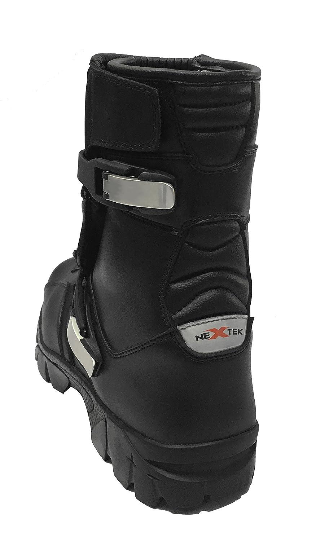 Rider Botas Nuevo Moto Impermeable Botas de Cuero Motocicleta Touring Zapatos Blindados Off Road para Hombre Mujer