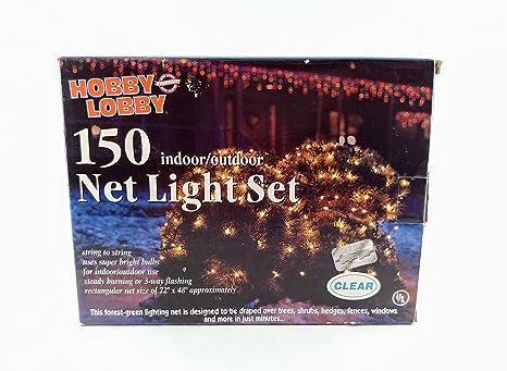 Hobby Lobby Christmas.Amazon Com Hobby Lobby Net String Lights Clear Christmas