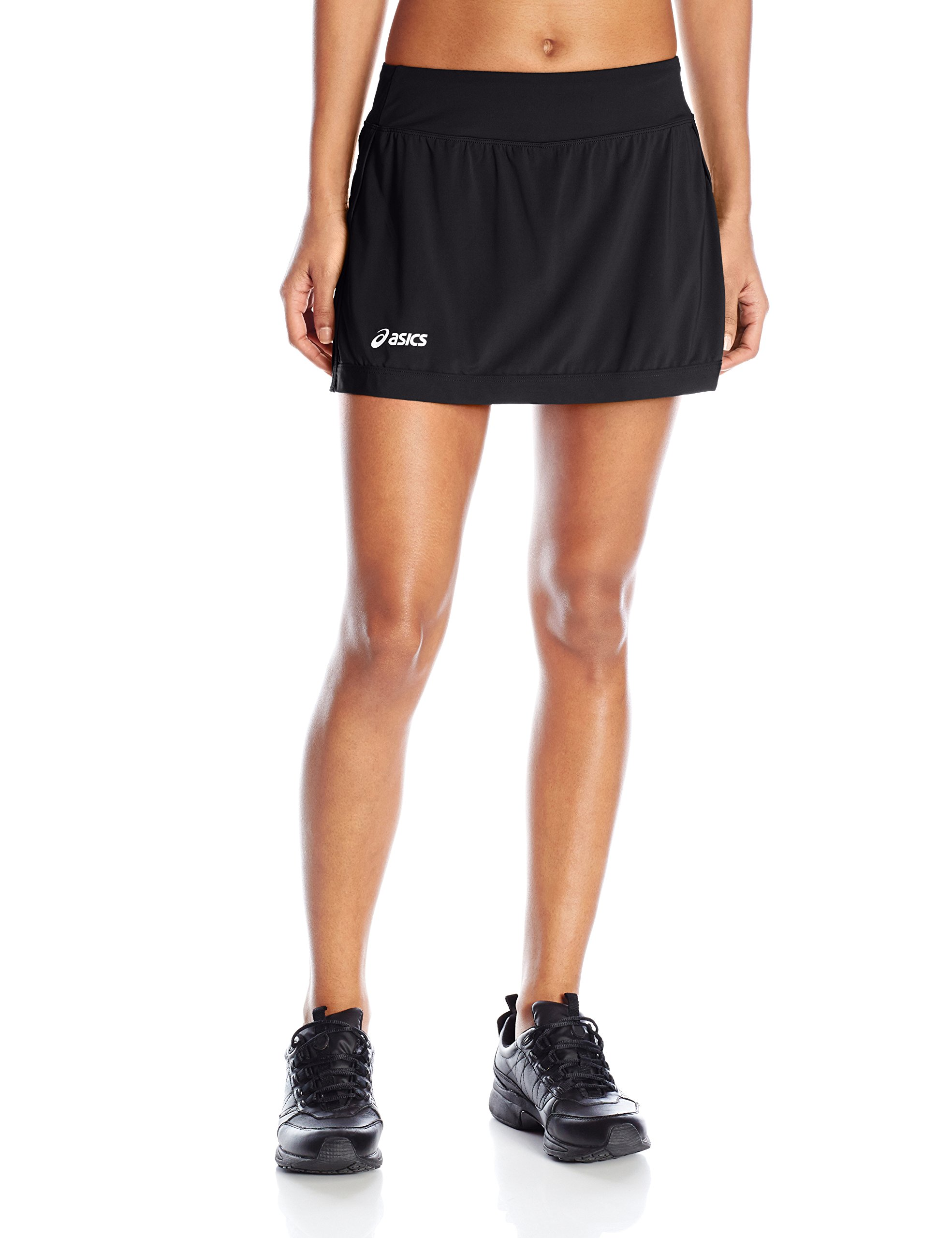 ASICS Women's The Attacker Sarong Shorts, Black, Large