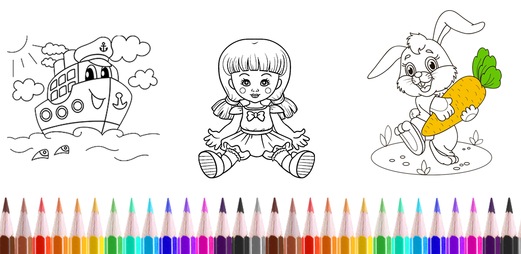Amazon.com: Coloring Games For Kids And Drawing Book For Toddlers: Appstore  For Android