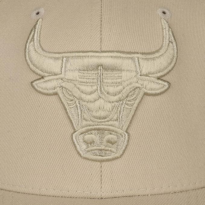 Mitchell & Ness Snapback Tonal 110/Flexfit CHicago Bulls Khaki ...