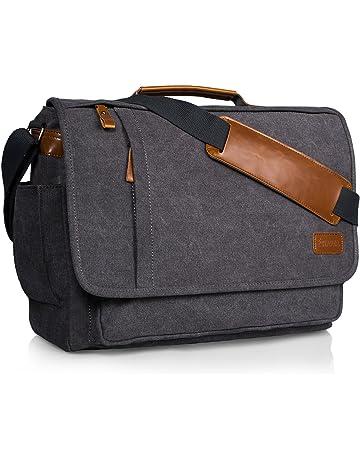 Estarer 15 - 15.6 Inch Laptop Messenger Bag for Macbook Pro   HP Pavilion    Dell 846843c35cf86