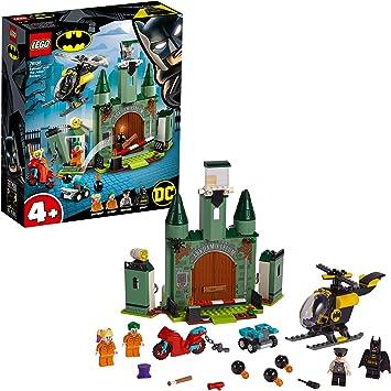 Oferta amazon: LEGO Super Heroes - Batman y la Huida del Joker Juguete de construcción de Aventuras de Superhéroes, incluye la Prisión de Arkham y Minifigura de Harley Quinn, Novedad 2019 (76138)