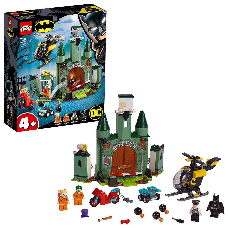 Brand New Set of Custom figures featuring Arkham Villains Joker Harley