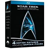 Deals on Star Trek: The Next Generation Motion Picture 5-Movie Blu-ray
