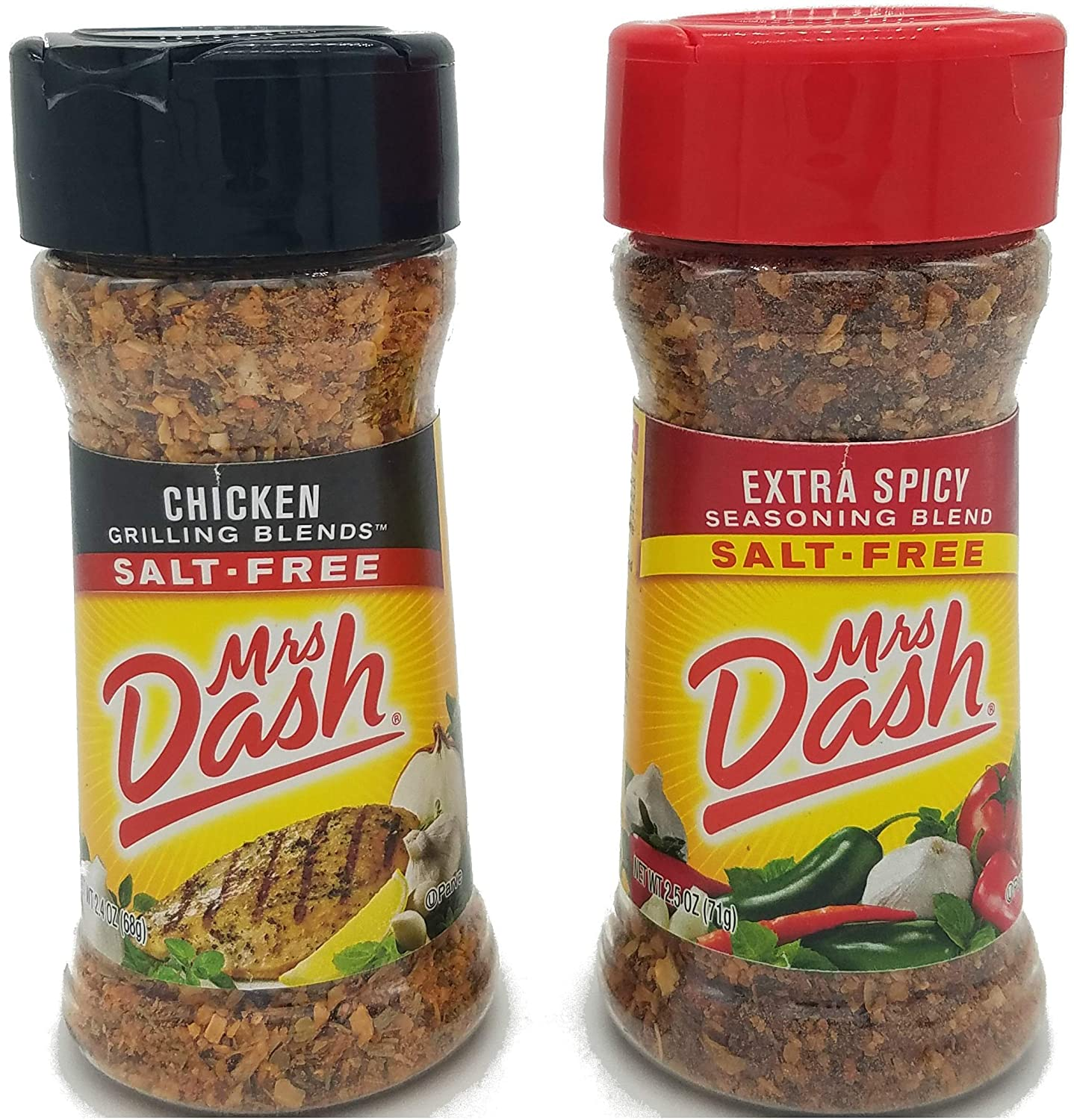 Mrs. Dash Extra Spicy and Chicken Bundle (1 each 2.5 ounce bottle)