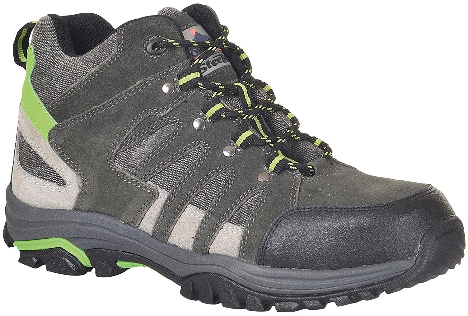 Steelite Trainer Mid Cut 39//6 talla 39 color Gris Portwest FW37