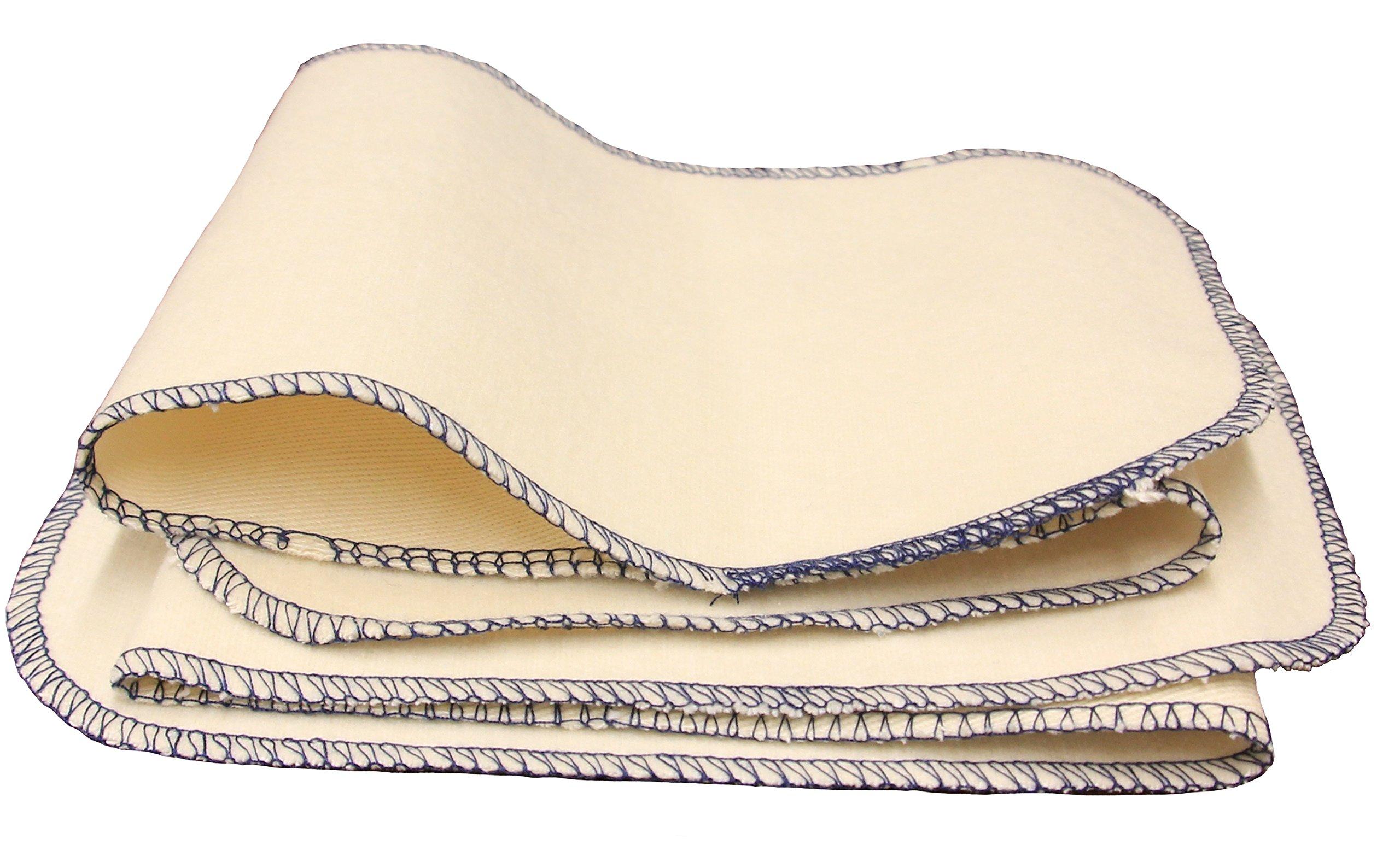 FeetPeople Premium Professional Shine Cloth, 20 Inch x 5 Inch, 6 Cloths