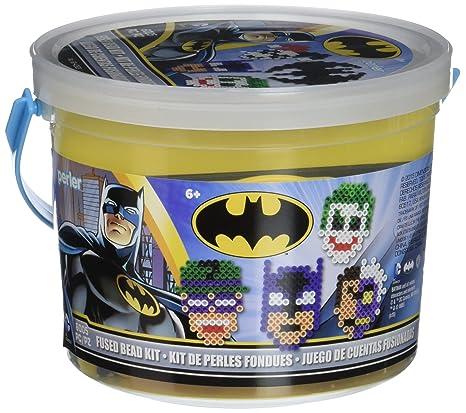 Amazon.com: Perler Beads Batman Fuse Bead Bucket Craft ...