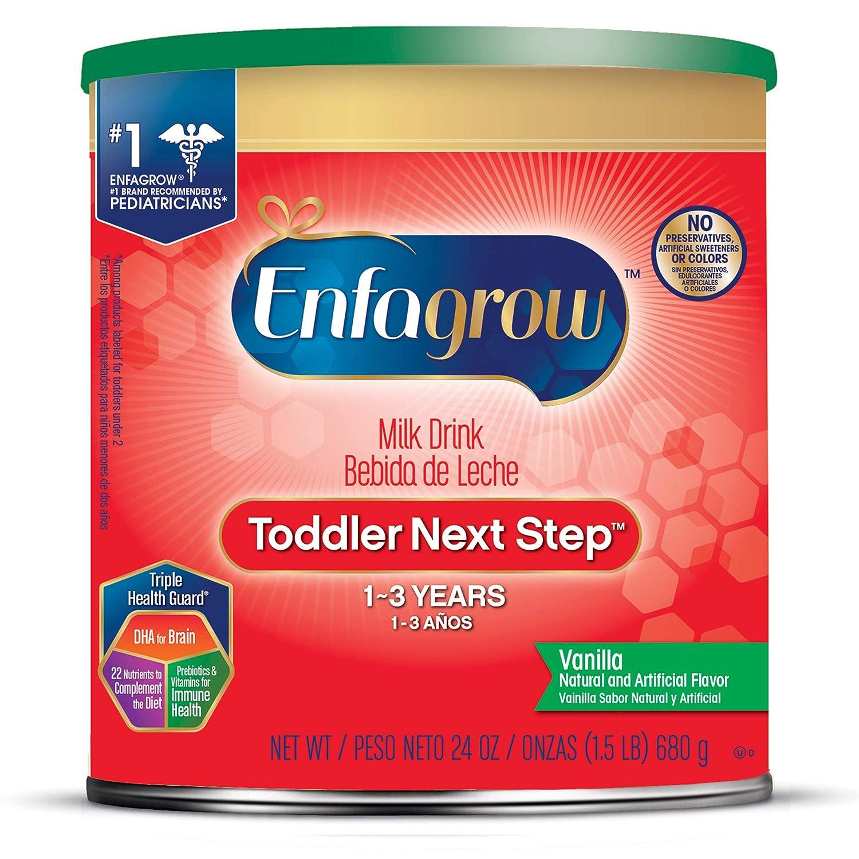 Enfagrow Toddler Next Step, Vanilla Flavor - Powder Can, 24 oz (Pack of 4) Mead Johnson & Company