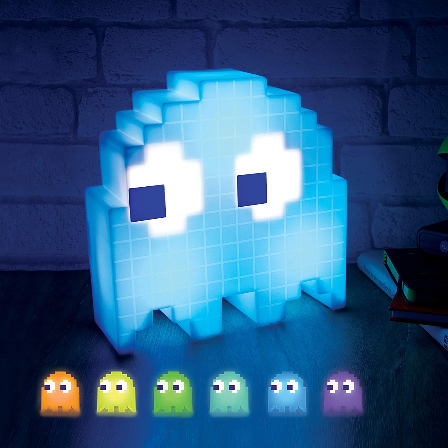 Paladone Pac-Man Ghost Light (Official) with 16 colour changes.