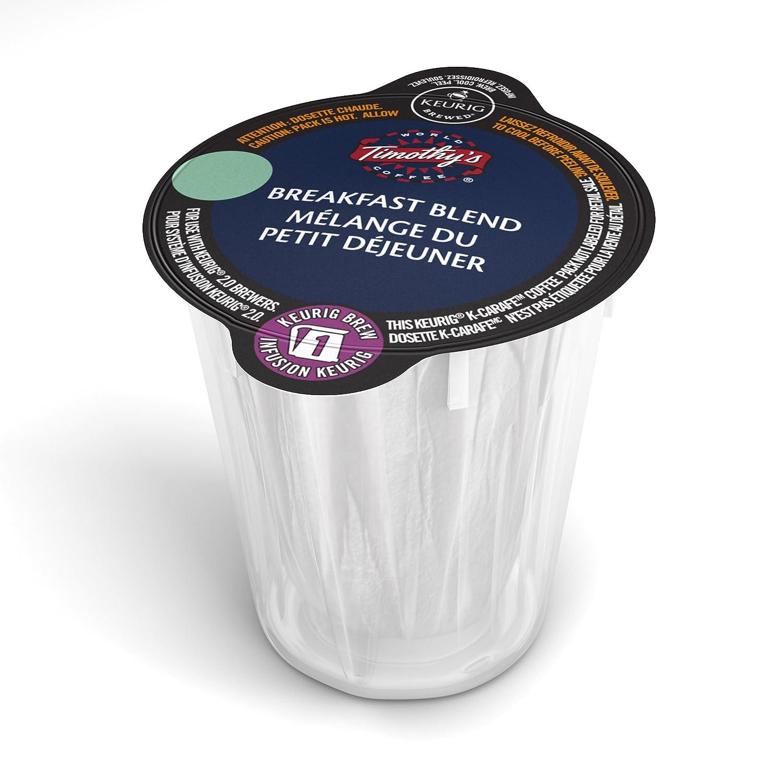 Van Houtte Original House Blend Single Serve Keurig Certified K-Carafe pods for Keurig brewers, 8 Count 77-30701