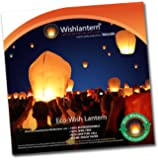 Eco White Wish Lanterns (Pack of 10 Sky Lanterns)