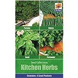 Verduras Semilla Colecciones - 4 in 1 paquete - Cocina Hierbas