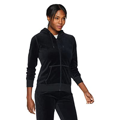 Starter Women's Velour Track Jacket with Hood, Exclusive: Clothing