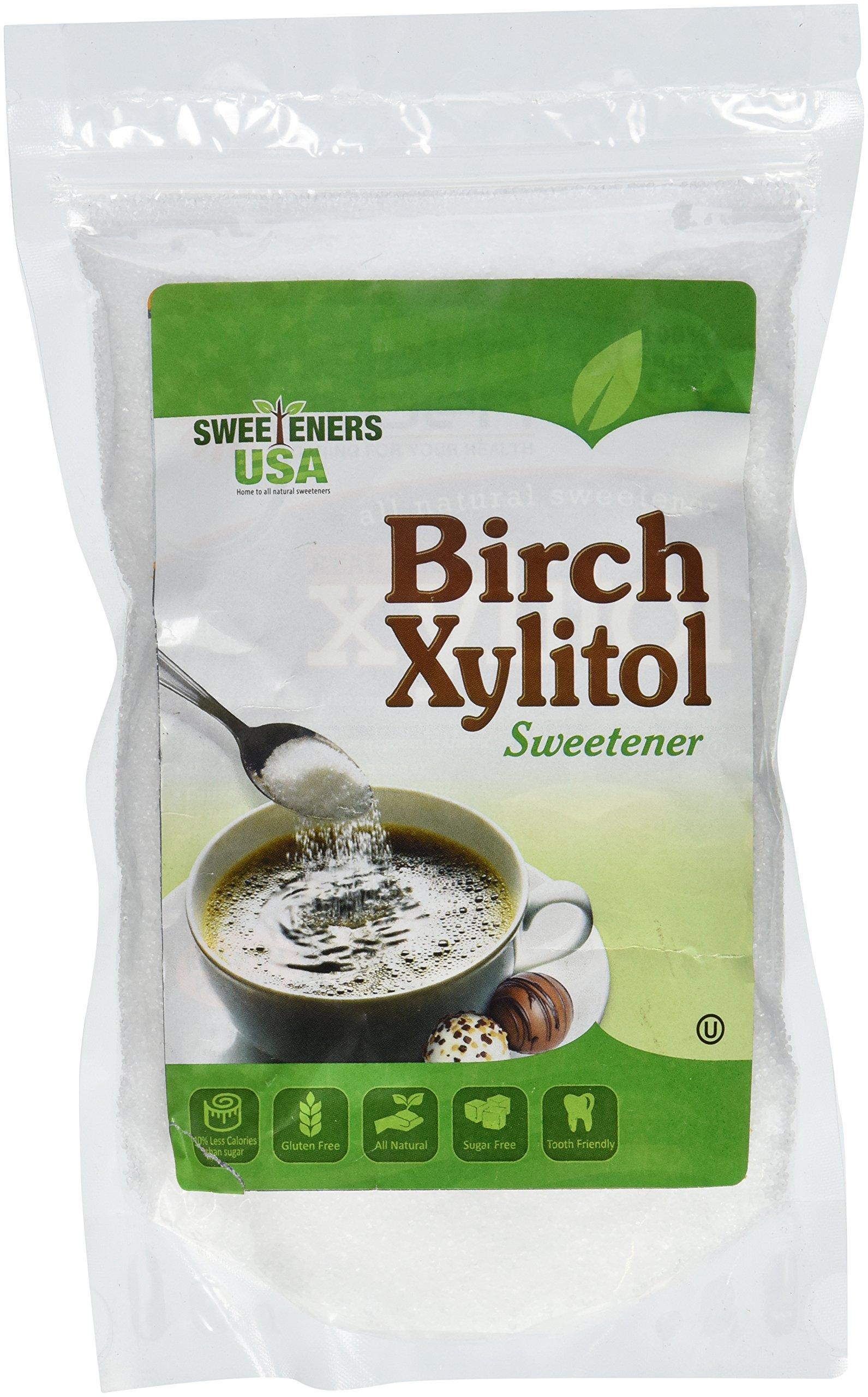 Sweeteners USA Kosher Birch Xylitol 1 Lbs.