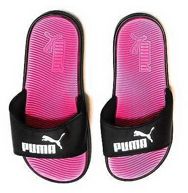 PUMA Women s Pop Cat Athletic Slide Sandals 86078fece565