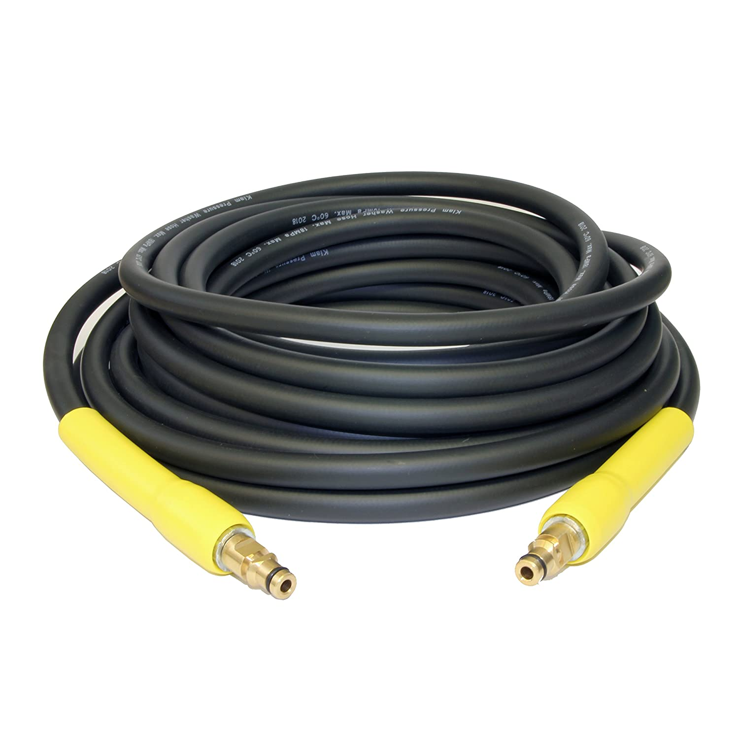 Kiam Power Products 10m High Pressure Hose Click Click Type for Karcher K Series Pressure Washers (K1, K2, K3, K4, K5, K6, K7)