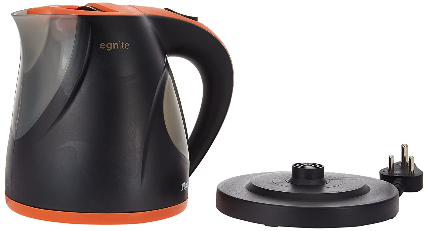 Buy Pigeon Egnite Eg12051 12 Litre Electric Kettle Black Orange Wiring Zones Kitchen Online At Low Prices In India
