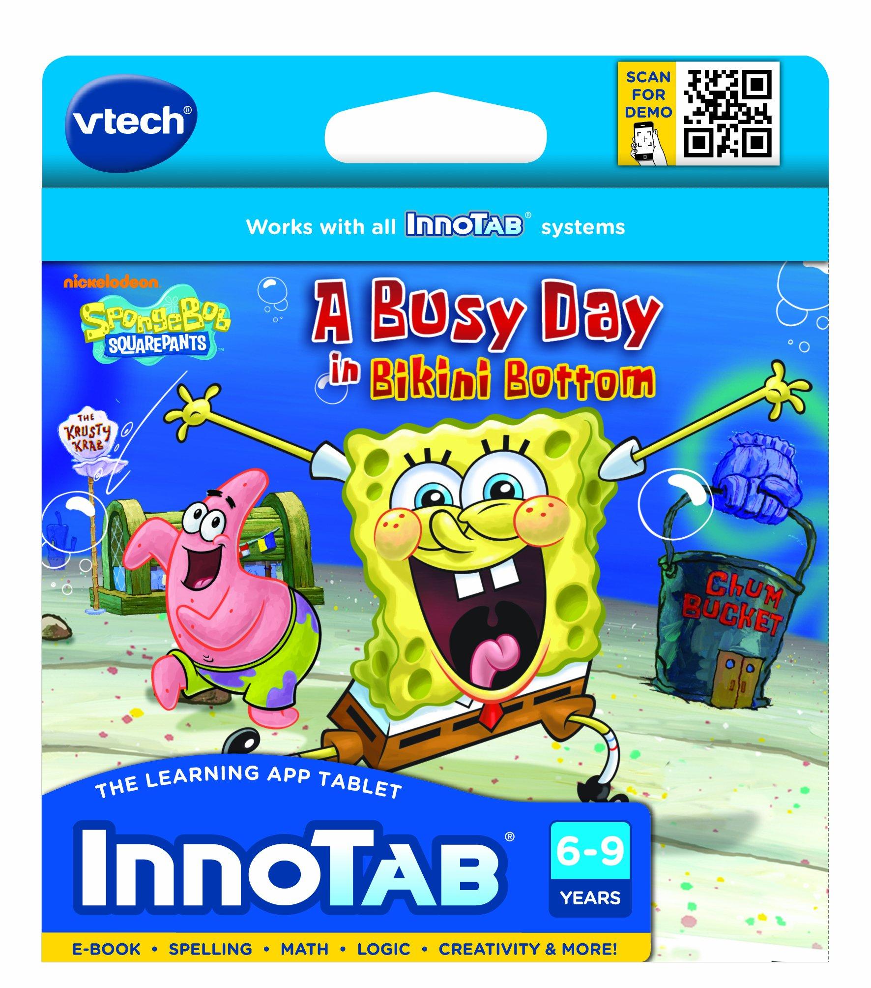 VTech - InnoTab Software - SpongeBob SquarePants by VTech