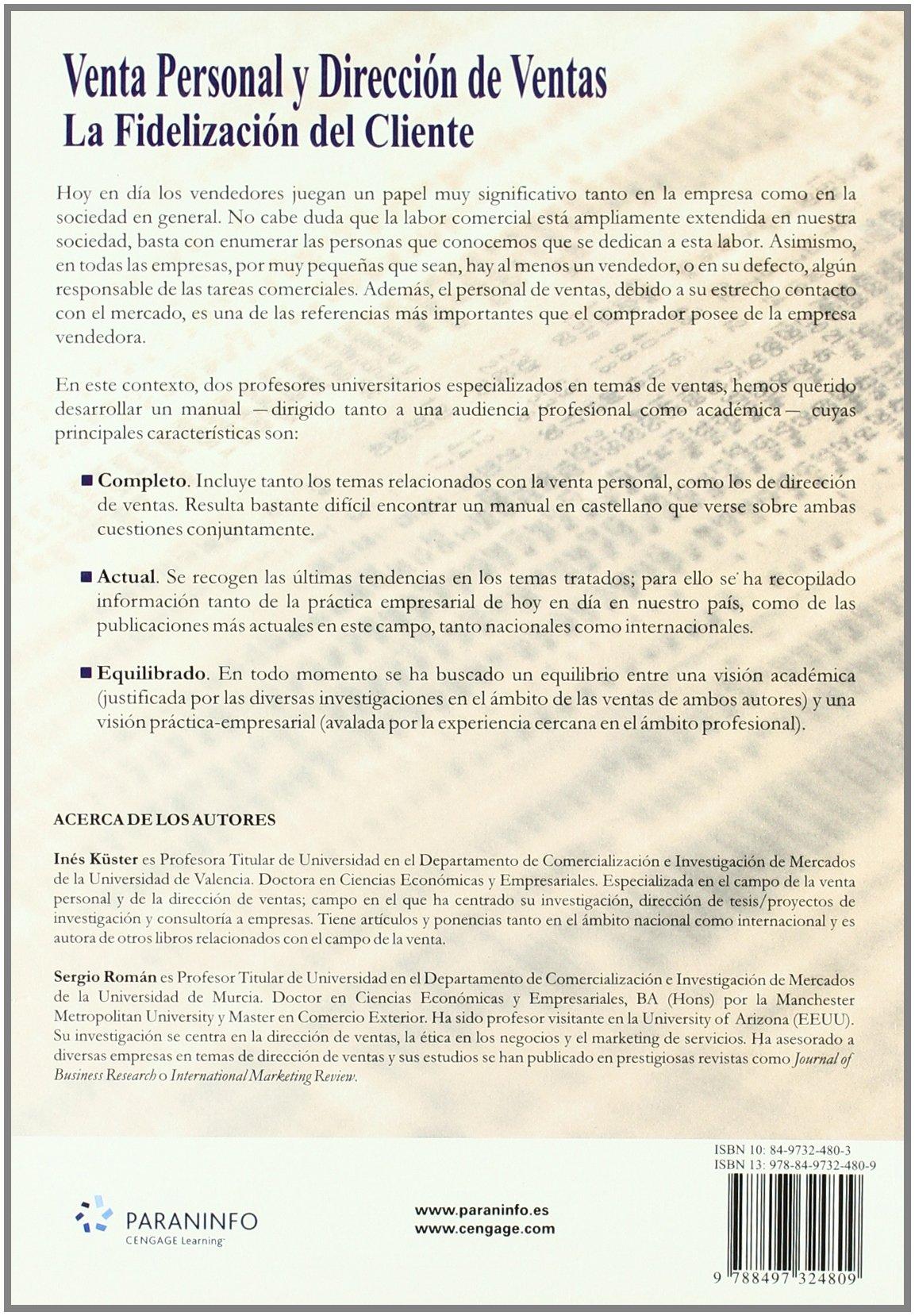 Manual del profesor de ventas (Spanish Edition)