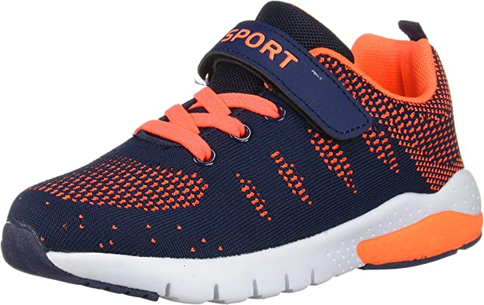 Kids Running Tennis Shoes Lightweight Casual Walking Sneakers for Boys and Girls