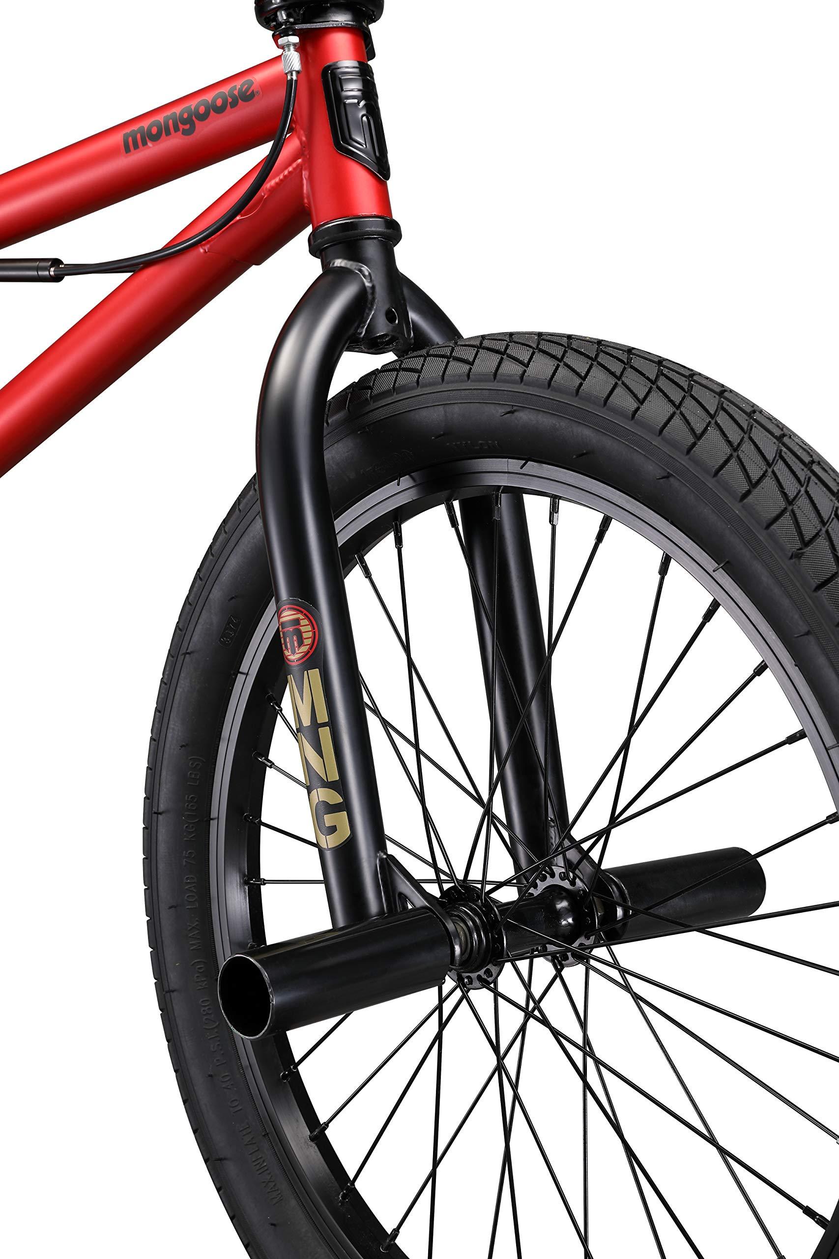 Mongoose Legion L20 Boy's Freestyle BMX Bike, 20 Inch Wheels