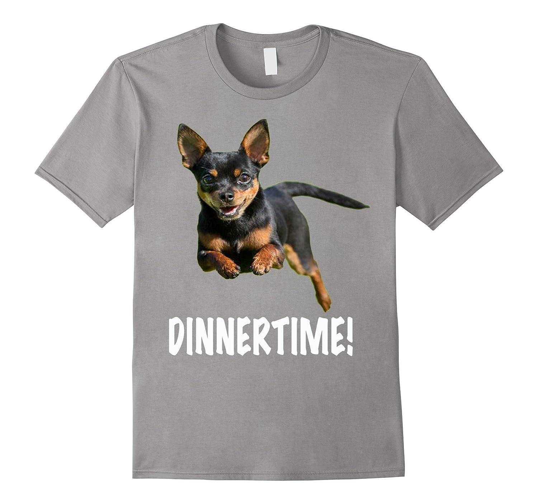 Chihuahuas Dinnertime Tee Shirt CHIHUAHUA-Art
