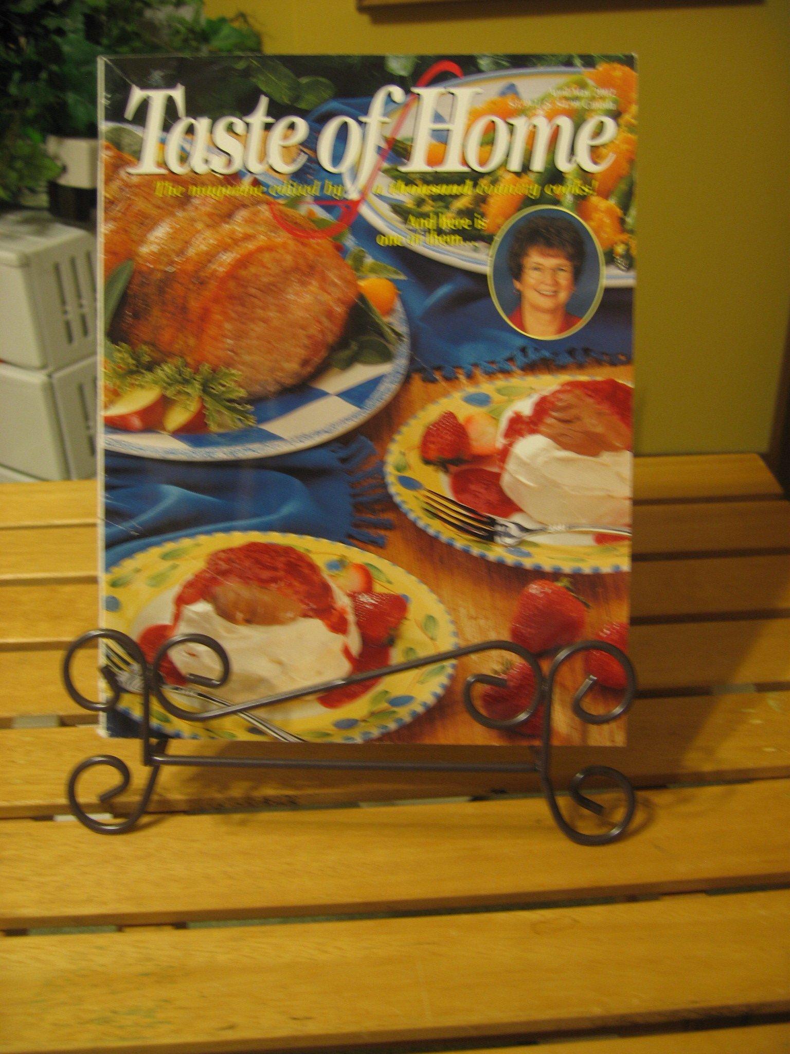 Read Online Taste of Home Magazine, April / May 2002 (Vol. 10, No. 2) PDF