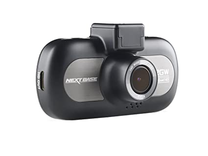 Nextbase 412GW - Full 1440p QUAD HD In-Car Dash Camera DVR - 140° Viewing Angle – WiFi and GPS - Black