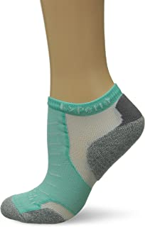 product image for Thorlos XCCU Thin Cushion Running Low Cut Socks, Mint, Small