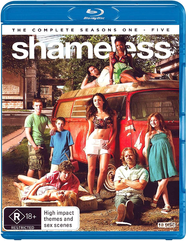 Shameless - Series 1 - 5 Blu-ray B01FR34KAU