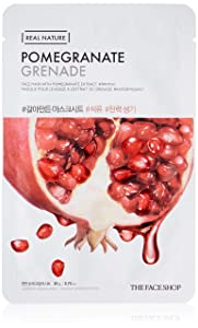 THE FACE SHOP Real Nature Mask Sheet Pomegranate
