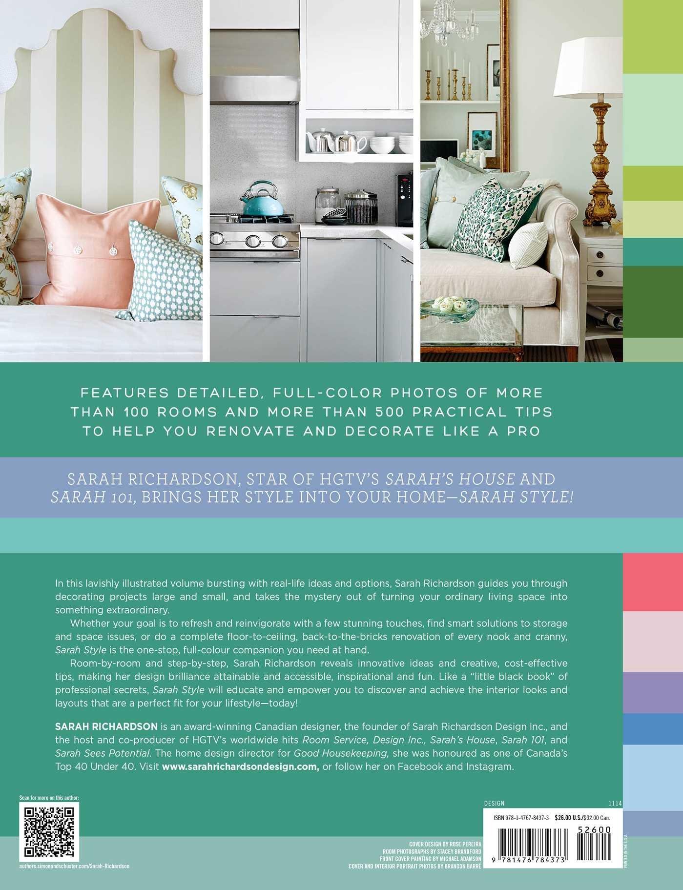 sarah style sarah richardson 9781476784373 amazon com books