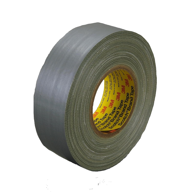 Scotch General Purpose Cloth Duct Tape 393, Silver, 48 mm x 54.8 m, 12 mil