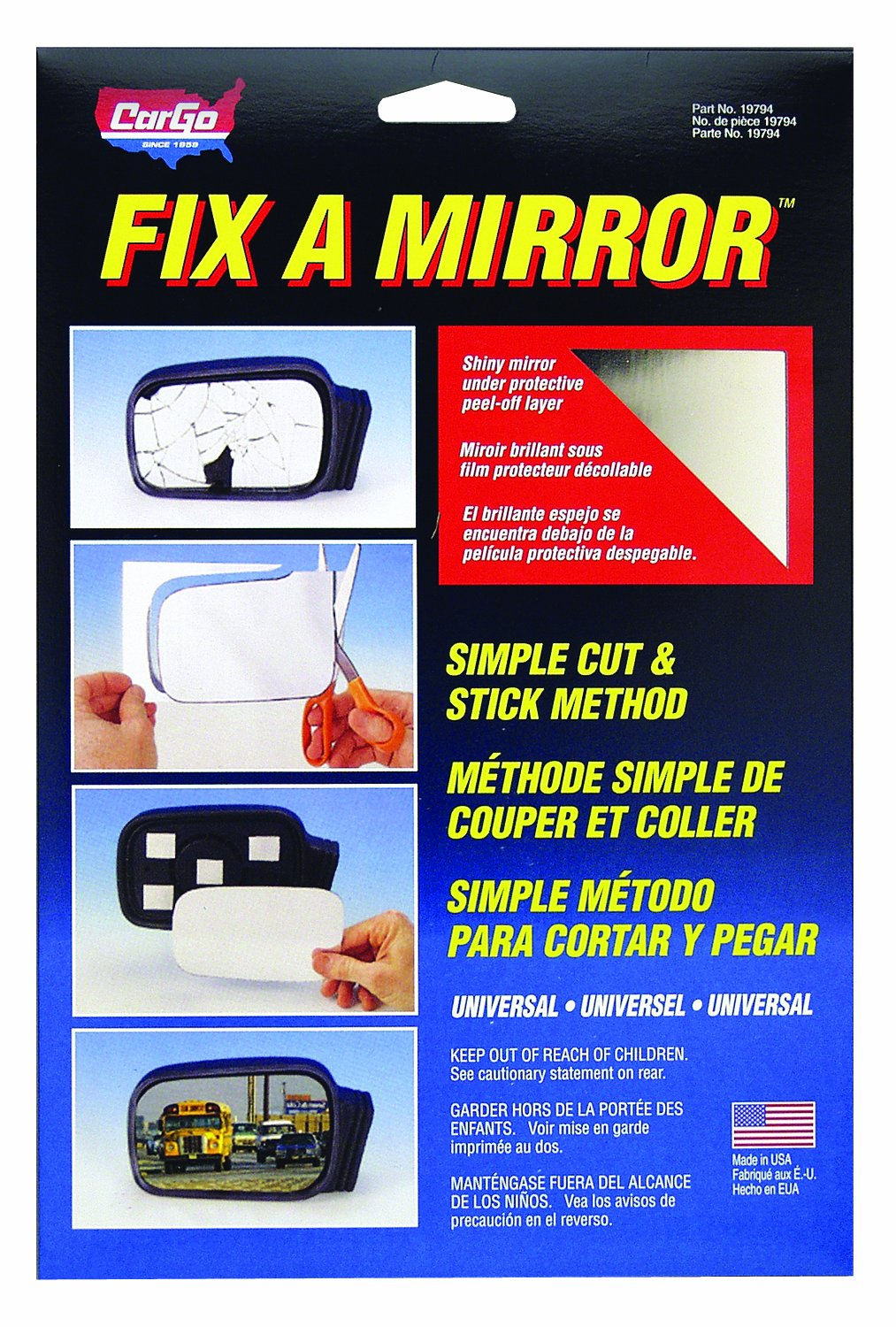 Blue Magic 19794 Fix A Mirror