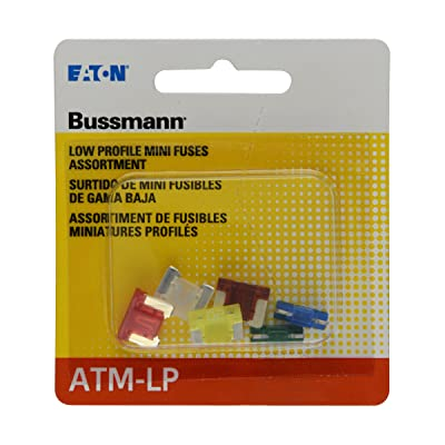 Bussmann (BP/ATM-A6LP-RP) ATM-LP Low Profile Fuse Assortment Kit - 6 Piece: Automotive